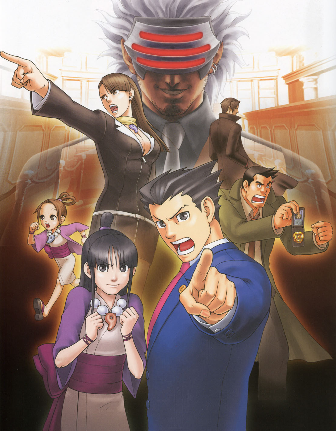 Phoenix-wright-trials-and-tribulations-art-maya-pearl-godot-mia-gumshoe